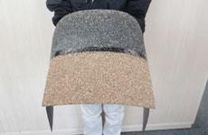 屋根材としての使用