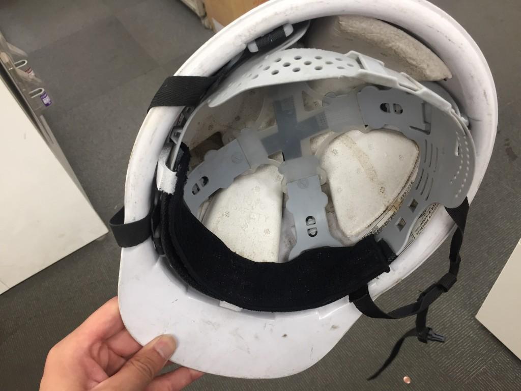 ヘルメット取付け