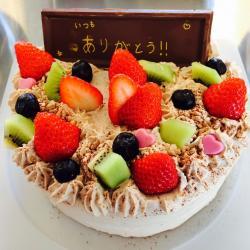 ガーデンスパ ケーキ